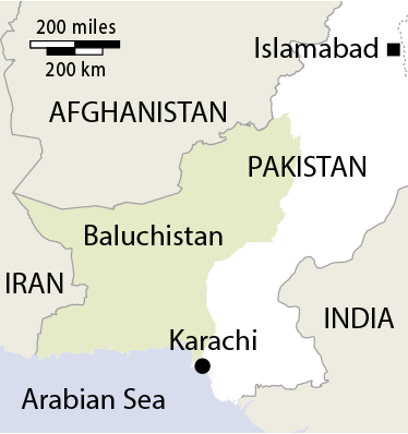 Baluchistan - Source: Reuters